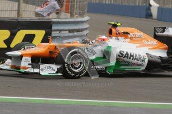 © 2012 Octane Photographic Ltd. European GP Valencia - Friday 22nd June 2012 - F1 Practice 1. Force India VJM05 - Jules Bianchi. Digital Ref : 0367lw7d9423