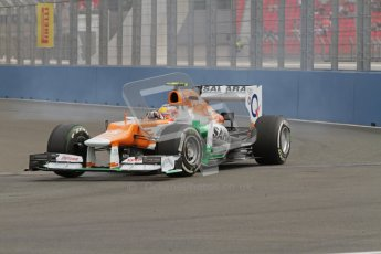 © 2012 Octane Photographic Ltd. European GP Valencia - Friday 22nd June 2012 - F1 Practice 1. Force India VJM05 - Jules Bianchi. Digital Ref : 0367lw7d9507