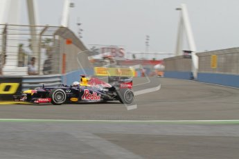 © 2012 Octane Photographic Ltd. European GP Valencia - Friday 22nd June 2012 - F1 Practice 1. Red Bull RB8 - Sebastian Vettel. Digital Ref : 0367lw7d9977