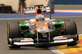 © 2012 Octane Photographic Ltd. European GP Valencia - Friday 22nd June 2012 - F1 Practice 2. Force India VJM05 - Paul di Resta. Digital Ref : 0368lw1d4166