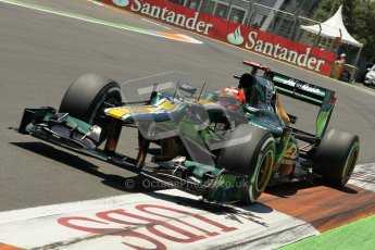 © 2012 Octane Photographic Ltd. European GP Valencia - Saturday 23rd June 2012 - F1 Qualifying. Caterham CT01 - Heikki Kovalainen. Digital Ref : 0370lw1d4994