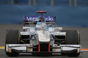 © 2012 Octane Photographic Ltd. European GP Valencia - Friday 22nd June 2012 - GP2 Practice - Barwa Addax team - Johnny Cecotto. Digital Ref : 0369lw7d0241