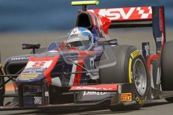 © 2012 Octane Photographic Ltd. European GP Valencia - Friday 22nd June 2012 - GP2 Practice - iSport International - Jolyon Palmer. Digital Ref : 0369lw7d0342