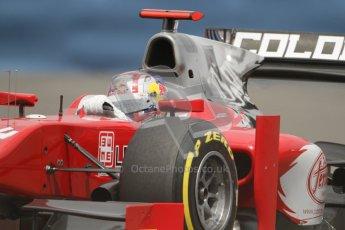 © 2012 Octane Photographic Ltd. European GP Valencia - Friday 22nd June 2012 - GP2 Practice - Scuderia Coloni - Stefano Coletti. Digital Ref : 0369lw7d0354