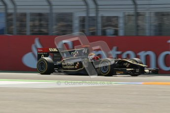 © 2012 Octane Photographic Ltd. European GP Valencia - Saturday 23rd June 2012 - GP2 Race 1 - Lotus GP - James Calado. Digital Ref : 0372lw1d5428