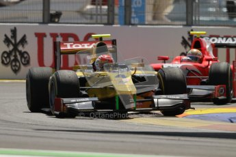 © 2012 Octane Photographic Ltd. European GP Valencia - Saturday 23rd June 2012 - GP2 Race 1 - Dams - Felipe Nasr. Digital Ref : 0372lw7d2015