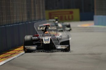 © 2012 Octane Photographic Ltd. European GP Valencia - Saturday 23rd June 2012 - GP2 Race 1 - Lotus GP - James Calado. Digital Ref : 0372lw7d2198