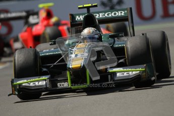 © 2012 Octane Photographic Ltd. European GP Valencia - Saturday 23rd June 2012 - GP2 Race 1 - Caterham Racing - Giedo van der Garde. Digital Ref : 0372lw7d2607
