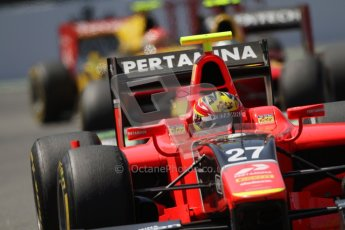 © 2012 Octane Photographic Ltd. European GP Valencia - Saturday 23rd June 2012 - GP2 Race 1 - Carlin - Rio Haryanto. Digital Ref : 0372lw7d2618