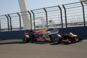 © 2012 Octane Photographic Ltd. European GP Valencia - Saturday 23rd June 2012 - F1 Practice 3. Red Bull RB8 - Sebastian Vettel. Digital Ref : 0371lw7d1272