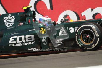 © 2012 Octane Photographic Ltd. European GP Valencia - Saturday 23rd June 2012 - F1 Practice 3. Caterham CT01 - Vitaly Petrov. Digital Ref : 0371lw7d1481
