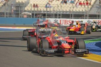 © 2012 Octane Photographic Ltd. European GP Valencia - Sunday 24th June 2012 - GP2 Race 2 - Carlin - Rio Haryanto. Digital Ref : 0375lw1d6027