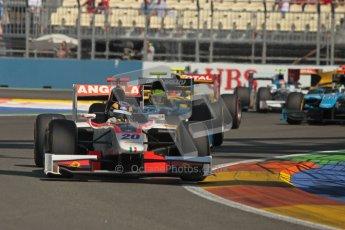 © 2012 Octane Photographic Ltd. European GP Valencia - Sunday 24th June 2012 - GP2 Race 2 - Rapax - Tom Dillmann. Digital Ref : 0375lw1d6094