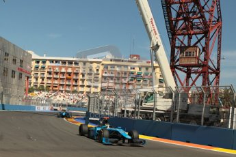 © 2012 Octane Photographic Ltd. European GP Valencia - Sunday 24th June 2012 - GP2 Race 2 - Ocean Racing Technology - Victor Guerin and Nigel Melker. Digital Ref : 0375lw1d6260