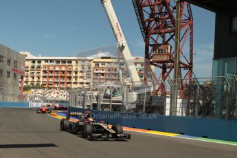 © 2012 Octane Photographic Ltd. European GP Valencia - Sunday 24th June 2012 - GP2 Race 2 - Lotus GP - James Calado. Digital Ref : 0375lw1d6284