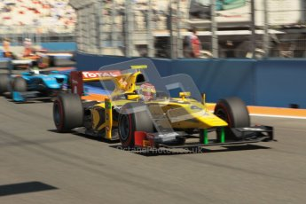© 2012 Octane Photographic Ltd. European GP Valencia - Sunday 24th June 2012 - GP2 Race 2 - Dams - Felipe Nasr. Digital Ref : 0375lw1d6392
