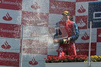 © 2012 Octane Photographic Ltd. European GP Valencia - Sunday 24th June 2012 - GP2 Race 2 Podium - Luiz Razia - Arden International. Digital Ref : 0375lw1d6669