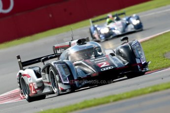 © Chris Enion/Octane Photographic Ltd. FIA WEC Qualifying – Silverstone. Saturday 25th August 2012. Audi R18 Ultra - Audi Sport Team Joest (Allan McNish and Tom Kristensen). Digital ref : 0471ce1d0293