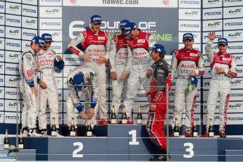 © Chris Enion/Octane Photographic Ltd. FIA WEC Podium – Silverstone. Sunday 26th August 2012. Digital ref : 0477ce1d0143
