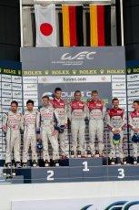 © Chris Enion/Octane Photographic Ltd. FIA WEC Podium – Silverstone. Sunday 26th August 2012. Digital ref : 0477ce1d0167