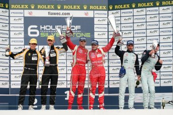 © Chris Enion/Octane Photographic Ltd. FIA WEC Podium – Silverstone. Sunday 26th August 2012. Digital ref : 0477ce1d0453