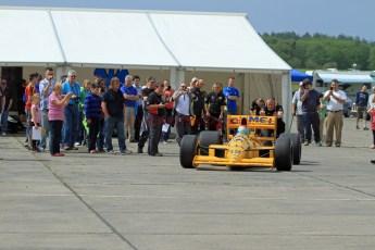 © Jones Photography 2012. 2nd June 2012 - Steve Griffiths, 1989 Lotus 101, Pembrey, Welsh Motorsport Festival. Digital Ref : 0366CJ0941