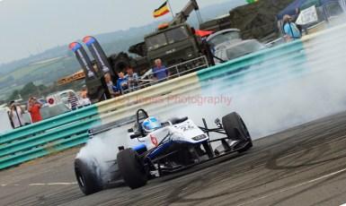 © Jones Photography 2012. 2nd June 2012 - Rupert Svendsen-Cook, Double R Formula 3, 2012 Dallara, Pembrey, Welsh Motorsport Festival. Digital Ref : 0366CJ1811