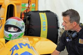 © Jones Photography 2012. 2nd June 2012 - Steve Griffiths, 1989 Lotus 101, Pembrey, Welsh Motorsport Festival. Digital Ref : 0366CJ2084