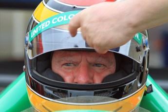 © Jones Photography 2012. 2nd June 2012 - John Reaks, 1990 Benetton B190, Pembrey, Welsh Motorsport Festival. Digital Ref : 0366CJ2092