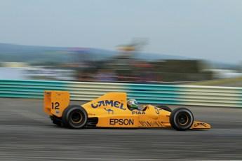 © Jones Photography 2012. 2nd June 2012 - Steve Griffiths, 1989 Lotus 101, Pembrey, Welsh Motorsport Festival. Digital Ref : 0366CJ2200