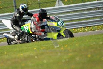 © Octane Photographic Ltd. Wirral 100, 28th April 2012. 250ccGP, Formula 400 and Minitwins, qualifying race. Stuart Thomas. Digital ref : 0303cb1d4577