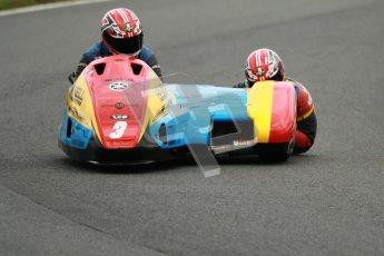 © Octane Photographic Ltd. Wirral 100, 28th April 2012. ACU/FSRA British F2 Sidecars Championship. Ian Bell/Carl Bell - LCR Yamaha. Qualifying.  Digital ref : 0310cb1d5130