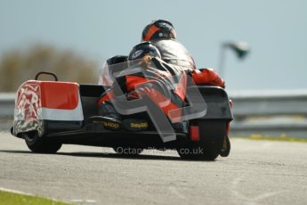 © Octane Photographic Ltd. Wirral 100, 28th April 2012. ACU/FSRA British F2 Sidecars Championship. Roy Hanks/Kevin Perry - Molyneux Rose. Race. Digital ref : 0310cb1d5501