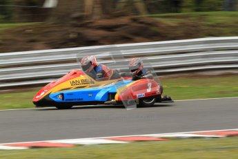 © Octane Photographic Ltd. Wirral 100, 28th April 2012. ACU/FSRA British F2 Sidecars Championship. Ian Bell/Carl Bell - LCR Yamaha. Qualifying.  Digital ref : 0310cb7d9103