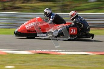 © Octane Photographic Ltd. Wirral 100, 28th April 2012. ACU/FSRA British F2 Sidecars Championship. Nicholas Dukes/William Moralee - BLR. Race. Nicholas Dukes/William Moralee - BLR. Digital ref : 0310cb7d9174