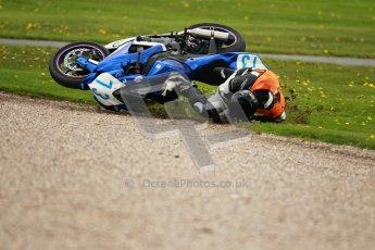 © Octane Photographic Ltd. Wirral 100, 28th April 2012. Formula 600, F600 Steelframed and Supertwins – Heat 2, Qualifying race, Jonathan Hulme - 600 Suzuki. Digital ref : 0307cb1d5094