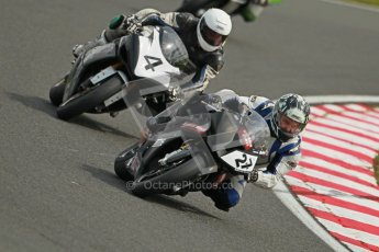 © Octane Photographic Ltd. Wirral 100, 28th April 2012. Powerbikes. Qualifying race. Digital ref : 0305cb1d4797