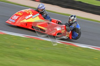 © Octane Photographic Ltd. Wirral 100, 28th April 2012. Sidecars. Free Practice. Craig Hauxwell/David Williams. Digital ref : 0308cb7d8726