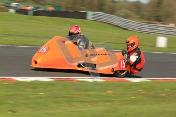 © Octane Photographic Ltd. Wirral 100, 28th April 2012. Sidecars. Free Practice. Tony Cunliffe/Martin Cunliffe. Digital ref : 0308cb7d8764