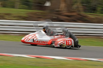 © Octane Photographic Ltd. Wirral 100, 28th April 2012. Sidecars. Qualifying race. John Shipley/Stephen Cunliffe. Digital ref : 0308cb7d9080