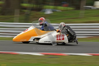 © Octane Photographic Ltd. Wirral 100, 28th April 2012. Sidecars. Qualifying race. Jim Stocks/Dave Caulfield. Digital ref : 0308cb7d9118