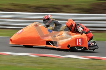 © Octane Photographic Ltd. Wirral 100, 28th April 2012. Sidecars. Qualifying race. Tony Cunliffe/Martin Cunliffe. Digital ref : 0308cb7d9130