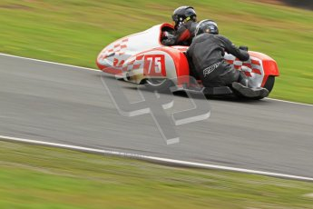 © Octane Photographic Ltd. Wirral 100, 28th April 2012. Sidecars. Qualifying race. John Shipley/Stephen Cunliffe. Digital ref : 0308cb7d9141