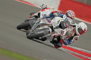 © Octane Photographic Ltd. World Superbike Championship – Silverstone, 1st Free Practice. Friday 3rd August 2012. Leon Haslam - BMW S1000 RR - BMW Motorrad Motorsport.  Digital Ref : 0443cb1d0086