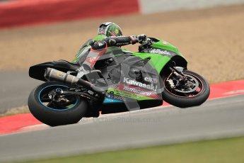 © Octane Photographic Ltd. World Superbike Championship – Silverstone, 1st Free Practice. Friday 3rd August 2012. Tom Sykes - Kawasaki ZX10R - Kawasaki Racing Team. Digital Ref : 0443cb1d0321