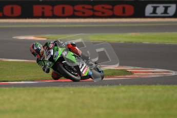 © Octane Photographic Ltd. World Superbike Championship – Silverstone, 2nd Qualifying Practice. Saturday 4th August 2012. Tom Sykes - Kawasaki ZX-10R - Kawasaki Racing Team. Digital Ref : 0445cb7d1460