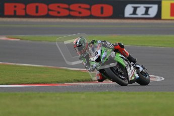 © Octane Photographic Ltd. World Superbike Championship – Silverstone, 2nd Qualifying Practice. Saturday 4th August 2012. Tom Sykes - Kawasaki ZX-10R - Kawasaki Racing Team. Digital Ref : 0445cb7d1644