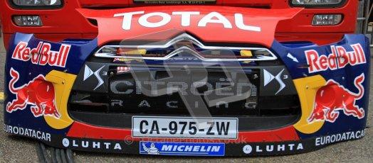 Citroen Bumper, Wales Rally GB 2012