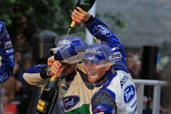 Jari-Matti Latvala and Petter Solberg, Ford Festa WRC, Wales Rally GB 2012