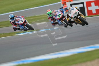 © Octane Photographic Ltd. 2012 World Superbike Championship – European GP – Donington Park. Saturday 12th May 2012. WSBK Free Practice. Jakob Smrz, Davide Giugliano and Carlos Checa. Digital Ref : 0333cb1d4085
